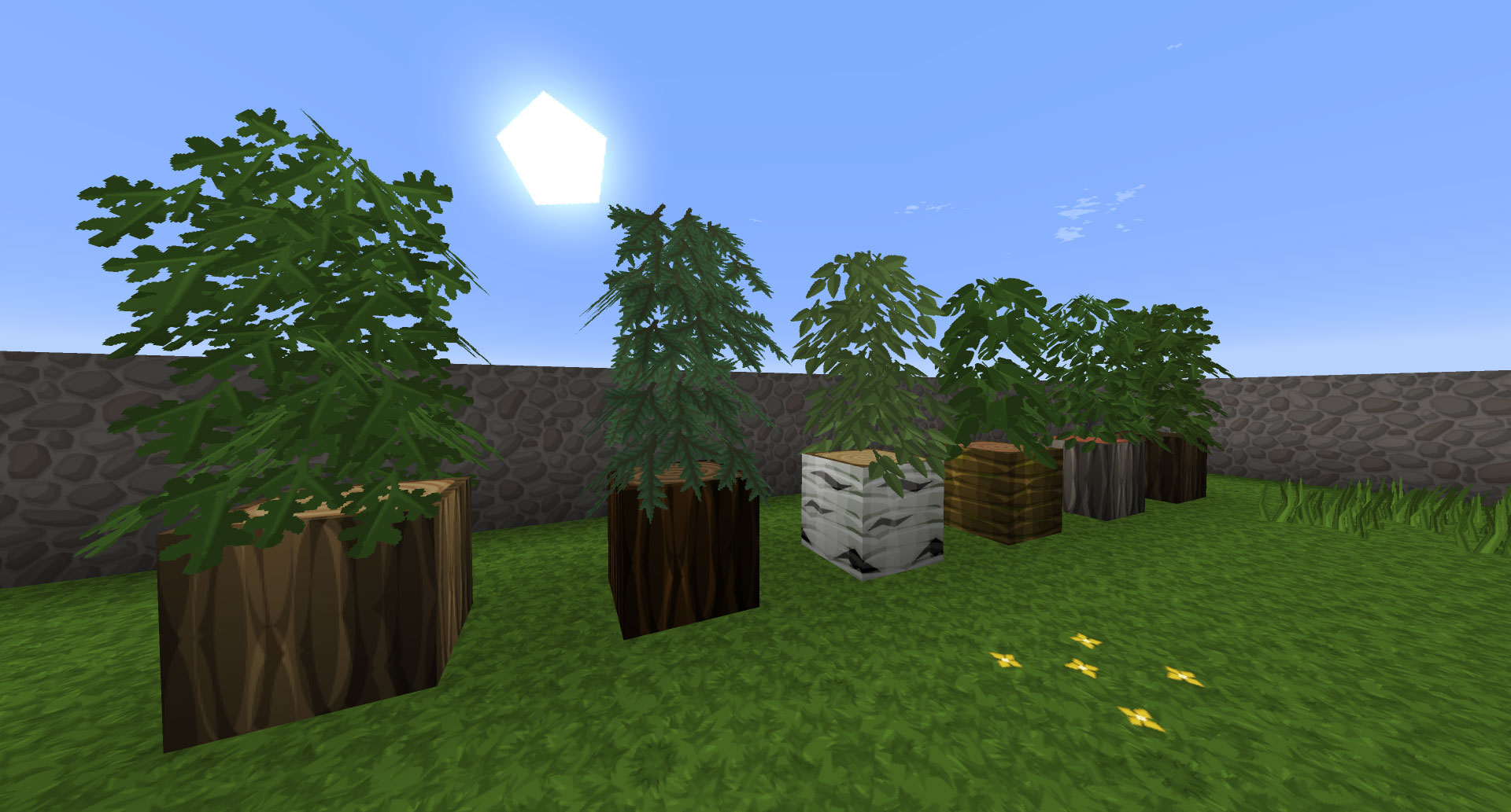 Better Leaves Addon preview